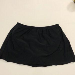 Christina bathing suit bottom black size 10